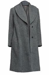 SALE! Plus Size Gray Tweed Coat 3x