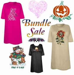Heat Transfer T-Shirts Bundle Sale!