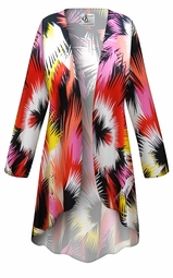 SALE! Customizable Plus Size Marvelous Slinky Print Jackets & Dusters - Sizes Lg XL 1x 2x 3x 4x 5x 6x 7x 8x 9x