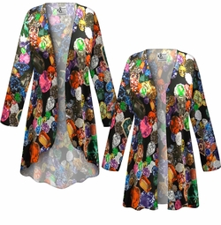 NEW! Customizable Plus Size Million $ Baby Slinky Print Jackets & Dusters - Sizes Lg XL 1x 2x 3x 4x 5x 6x 7x 8x 9x