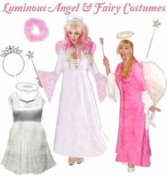 Luminous Angel & Fairy Plus Size Costumes