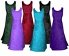 FINAL CLEARANCE SALE! MANY COLORS! Crush Velvet Princess Cut Tank Plus Size Supersize Dresses 0x 1x 2x 3x 4x