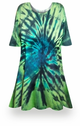 SALE! Mystery Lagoon Tie Dye Plus Size & Supersize X-Long T-Shirt 0x 1x 2x 3x 4x 5x 6x 7x 8x