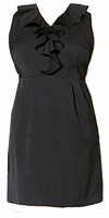 SALE! Black, Navy, or Gray Plus Size Sleeveless Twill Sheath Dress 4x/28W