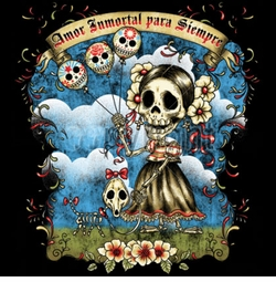 SALE! Amor Immortal Para Siempre Day Of The Dead Plus Size & Supersize T-Shirts S M L XL 2x 3x 4x 5x 6x 7x 8x (All Colors)