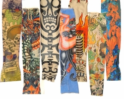 SALE! Arm Tattoo Sleeve -- American -- Tribal -- Day of the Dead -- New School