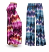 CLEARANCE! Customizable City Chic Slinky Print Plus Size & Supersize Palazzo Pants 1x