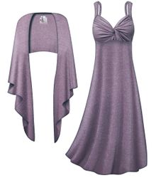NEW! Customizable Plus Size 2-Piece Purple with Silver Glimmer Princess Seam Dress Set 0x 1x 2x 3x 4x 5x 6x 7x 8x