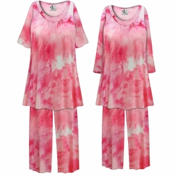 SOLD OUT! Customizable Plus Size Cotton Candy Marbled Print 2 Piece Pajama Pant Set 0x 1x 2x 3x 4x 5x 6x 7x 8x 9x