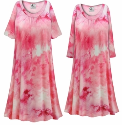 SALE! Customizable Plus Size Cotton Candy Marbled Print Sleep Gown - Muumuu - Moo Moo Dress 0x 1x 2x 3x 4x 5x 6x 7x 8x 9x