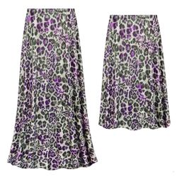 NEW! Customizable Plus Size Iridescent Animal Slinky Print Skirts - Sizes Lg XL 1x 2x 3x 4x 5x 6x 7x 8x 9x
