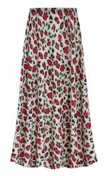 NEW! Customizable Plus Size Strawberry Animal Slinky Print Skirts - Sizes Lg XL 1x 2x 3x 4x 5x 6x 7x 8x 9x