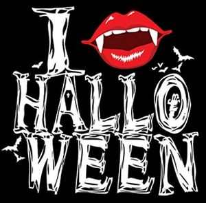 NEW! Fang Halloween Plus Size & Supersize T-Shirts S M L XL 2x 3x 4x 5x 6x 7x 8x 9x (Light/Dark Colors)