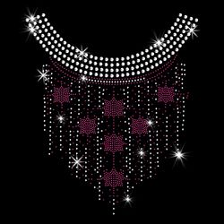 SALE! Fuchsia Six Sided Star Dangling Sparkly Rhinestud Rhinestones Plus Size & Supersize T-Shirts S M L XL 2x 3x 4x 5x 6x 7x 8x 9x (All Colors)