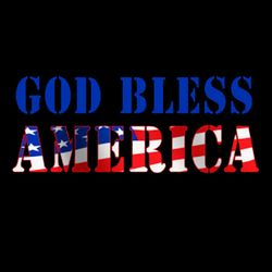SALE! God Bless America Plus Size & Supersize T-Shirts S M L XL 2x 3x 4x 5x 6x 7x 8x 9x (All Colors)