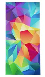 "SOLD OUT! CLOSEOUT! Large Oversize Geometric Print Beach Towel! 29"" x 60"""