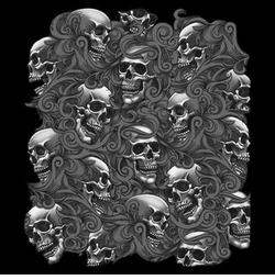 SALE! Lost Souls Skulls Plus Size & Supersize T-Shirts Small to 8x (All Colors)