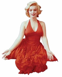 SOLD OUT! Marilyn Monroe Red Dress Plus Size & Supersize T-Shirts S M L XL 2x 3x 4x 5x 6x 7x 8x
