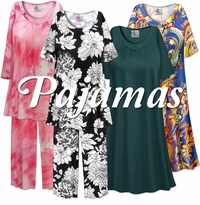 Plus Size Pajama's & Mu Mu Nightgown's
