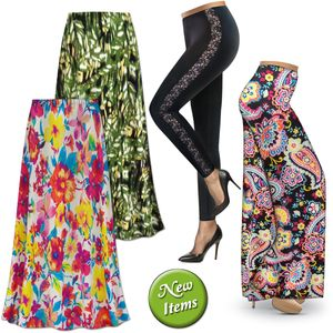 New Plus Size Pants & Skirts!