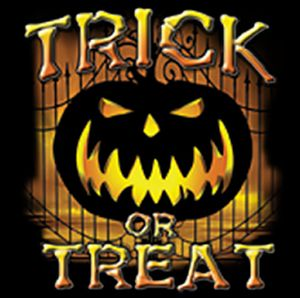 NEW! Trick or Treat Plus Size & Supersize T-Shirts S M L XL 2x 3x 4x 5x 6x 7x 8x 9x (Light/Dark Colors)