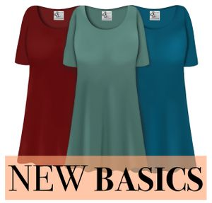New Plus Size Basics