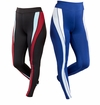 SALE! Plus Size Blue or Burgundy Color Blocked Performance Leggings 4x