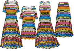Plus Size Delirium Slinky Dresses Shirts Jackets Pants Palazzo�s & Skirts - Sizes Lg to 9x
