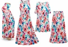 NEW! Plus Size Floral Slinky Dresses Shirts Jackets Pants Palazzo�s & Skirts - Sizes Lg to 9x