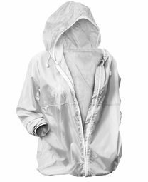 SOLD OUT! Plus Size Hooded Silver Gray Anorak Lightweight Active Jacket Size 4x