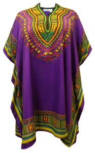 NEW! Plus Size Jeweled Murex Trunculus Print Short Caftan Dress or Shirt 1x-6x