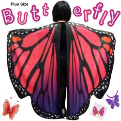 NEW! Plus Size Pink Butterfly Fairy Halloween Costume Lg XL 0x 1x 2x 3x 4x 5x 6x 7x 8x 9x