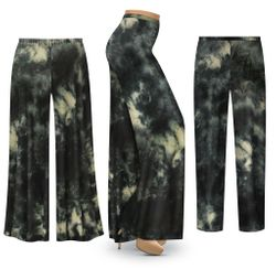 NEW! Plus Size Storm Clouds Tie Dye Palazzo Pants - Tapered Pants - Customizable L XL 1x 2x 3x 4x 5x 6x 7x 8x 9x