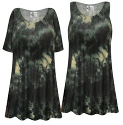 NEW! Plus Size Storm Clouds Tie Dye Short or Long Sleeve Shirts - Tunics - Tank Tops Customizable L XL 1x 2x 3x 4x 5x 6x 7x 8x 9x