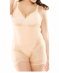 SOLD OUT! Plus Size Wear Your Own Bra Nude Body Briefer Size 4x 5x