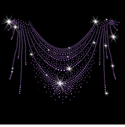 SALE! Purple Streaks Sparkly Rhinestud Rhinestones Plus Size & Supersize T-Shirts S M L XL 2x 3x 4x 5x 6x 7x 8x 9x (All Colors)