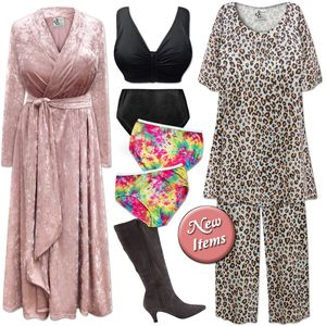 New Plus Size Lounge & Sleepwear!