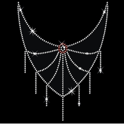 SALE! Sparkly Rhinestud Rhinestones Spider Web Neckline Plus Size & Supersize T-Shirts S M L XL 2x 3x 4x 5x 6x 7x 8x 9x (All Colors)