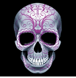 SALE! Candy Sugar Skull Plus Size & Supersize T-Shirts S M L XL 2x 3x 4x 5x 6x 7x 8x (All Colors)