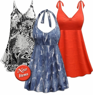 New Plus Size Swimwear!