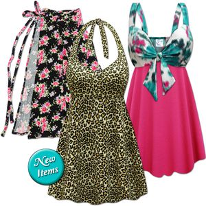 New Plus Size Swimwear & Cover-Ups!