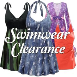 NEW Swimwear & Coverups on CLEARANCE!