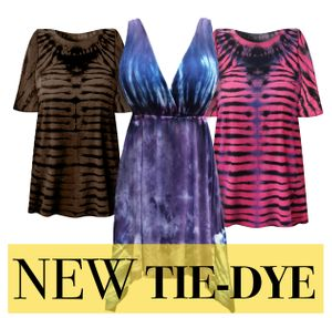 New Plus Size TieDye!
