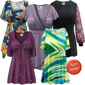 New Plus Size Tops!