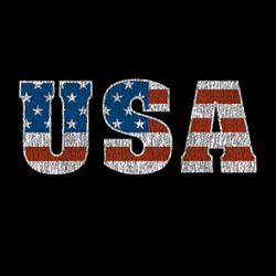 SALE! USA Flag Logo Distressed Look Plus Size & Supersize T-Shirts S M L XL 2x 3x 4x 5x 6x 7x 8x 9x (All Colors)