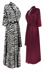 Black Friday - Sale Section: <i><font size=3><b><br>PLUS SIZE ROBES</b></i>