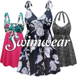 Plus Size & Super Size Swimwear 0x to 9x