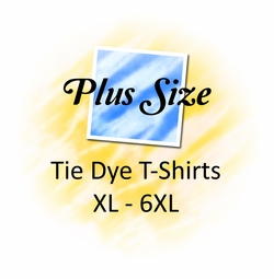 Plus Size Tie Dye Tops & Tee's XL to 6x