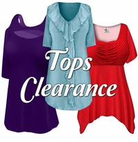 Tops on CLEARANCE!