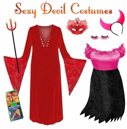 You Sexy Devil! Plus Size Costumes